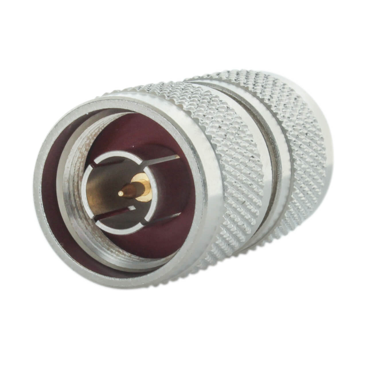 Bolton Barrel Connector - N-Male to N-Male
