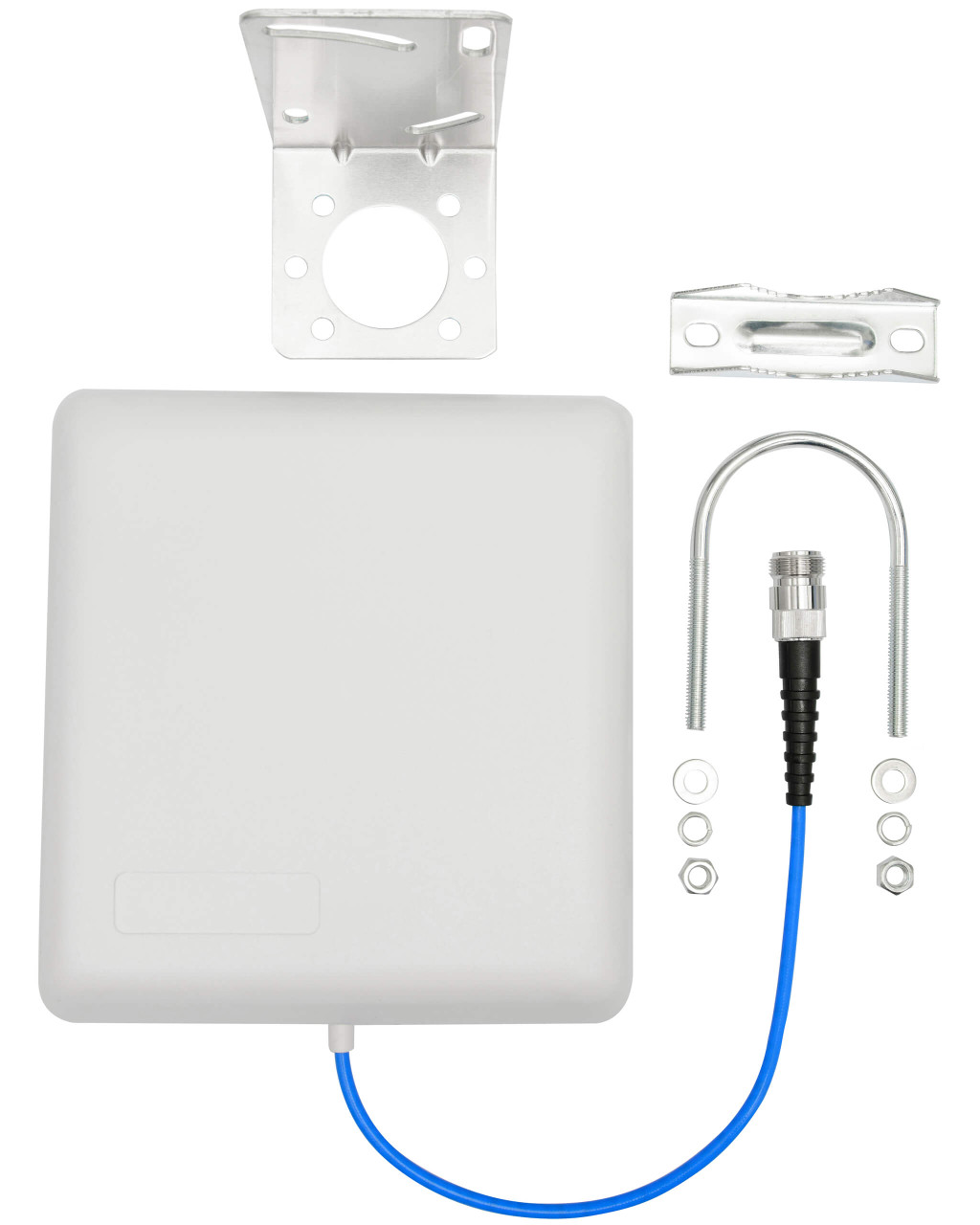 The Indoor Board 50 - Indoor Wall Mount Antenna, 140 PIM with components