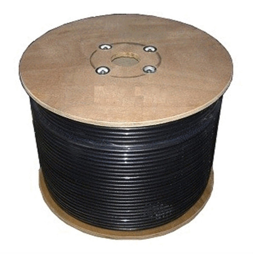 Bolton 400 Low Loss Cable - PE Black Jacket Priced Per Meter