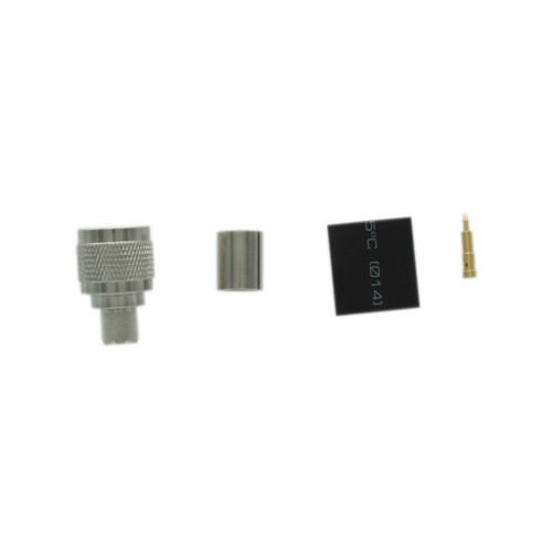 Bolton Crimp Connector - N-Male for Bolton 400 or LMR400®