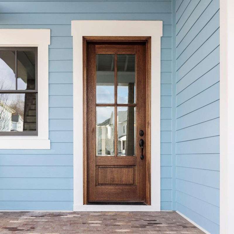 Grand Entry Doors Andalucia 4-Lite True Divided Lite Entry Door