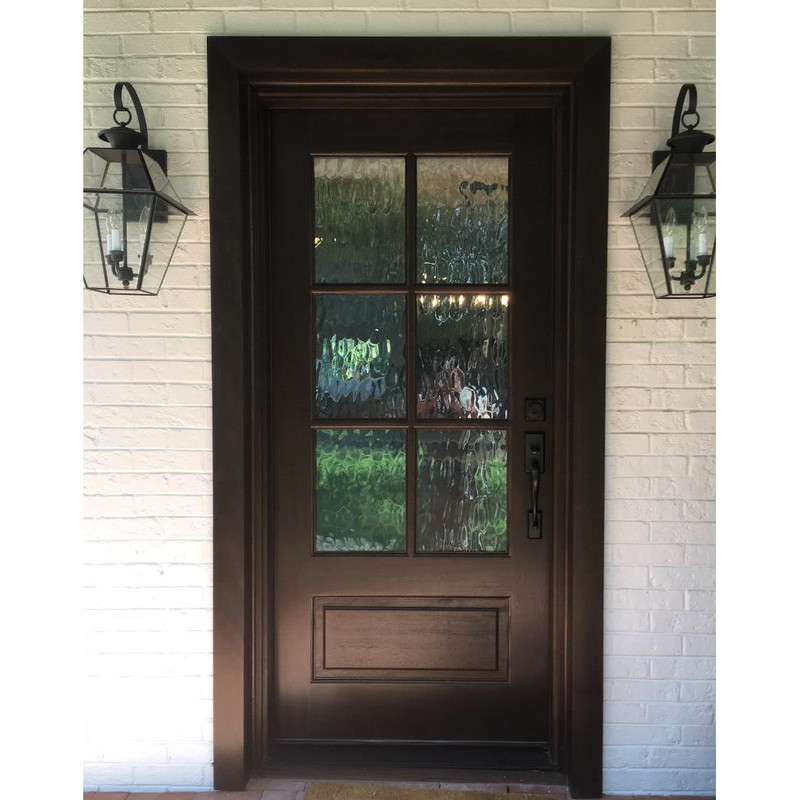 Grand Entry Doors Andalucia 6-Lite True Divided Lite Entry Door