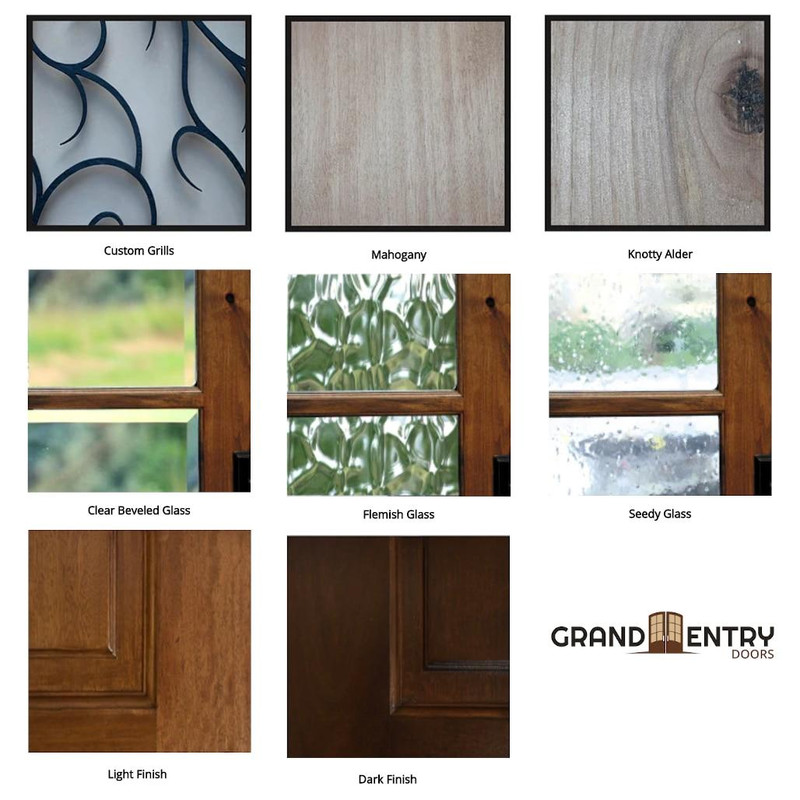 Grand Entry Doors Custom Entry Door - Your Unique Vision Built By Us