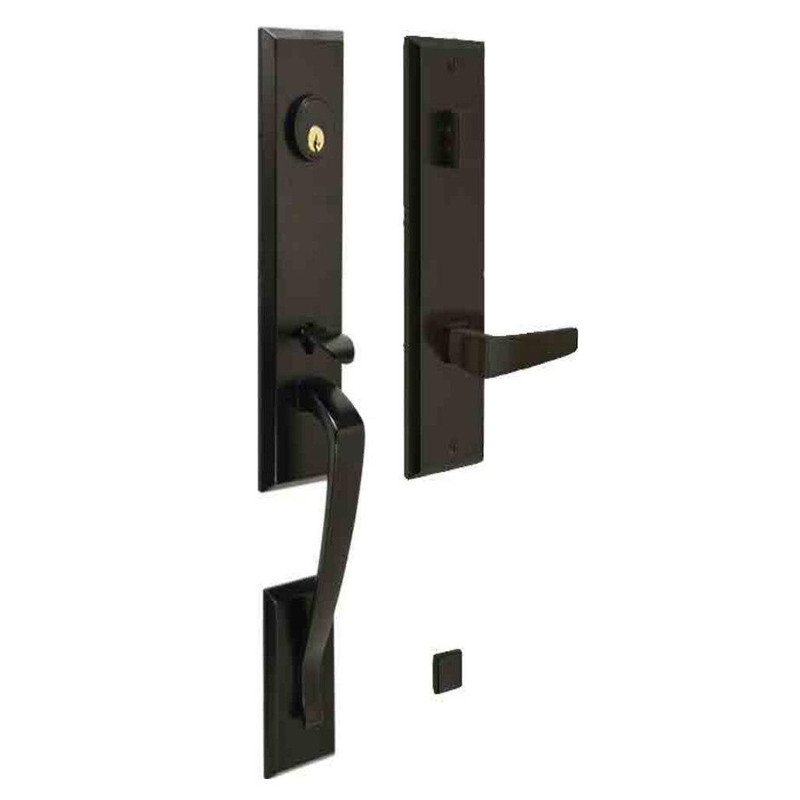 Grand Entry Doors Multi-Point - Ferco Berkeley Series - Available in Flat Black or Satin Nickel