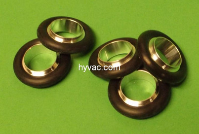 NW16 Centering Ring, Aluminum, Buna-N Oring