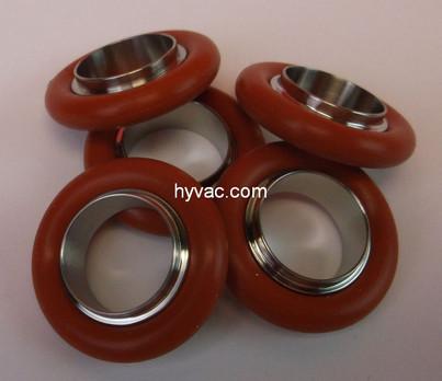 NW16 Centering Ring, Aluminum, Silicone Oring