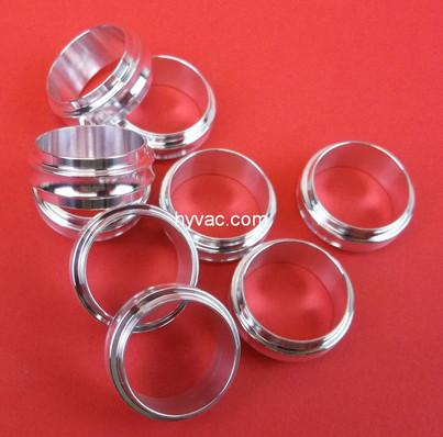 NW16 Centering Ring, Aluminum, No Oring