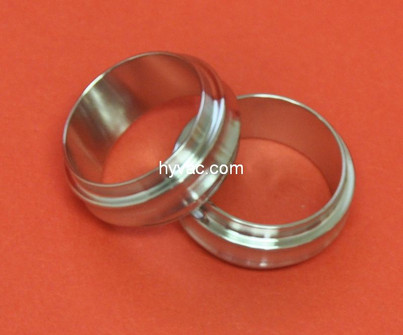 NW16 Centering Ring, 304 Stainless Steel, No Oring