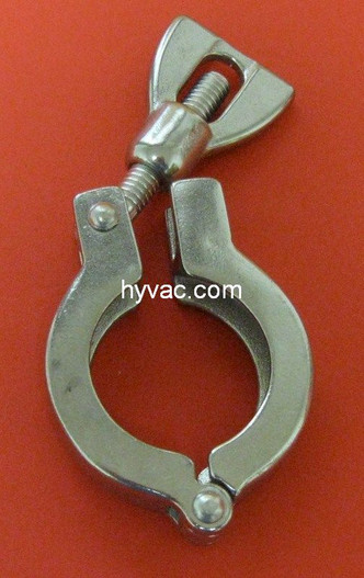 NW25 Clamp 304 Stainless Steel Wingnut