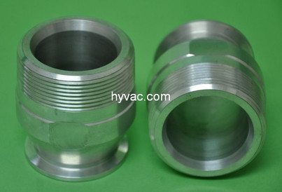 """NW40 X 2.0"""" Male National Pipe Tap (MNPT) Aluminum (2""""NPT)"""