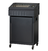 Dual branded Printronix P8000 Line Matrix Printer 500 lpm Zero Tear, High Rear Paper Tray, Standard Emulations (P8Z05-1213-0)