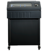 Dual branded Printronix P8000 Line Matrix Printer 1000 lpm Closed Pedestal,Low paper Tray, Standard Emulations (P8E10-1213-0)