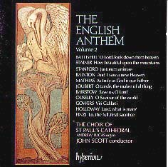 The English Anthem, Volume 2: Music from Saint Paul's Cathedral, London, England