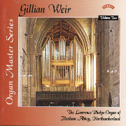 Gillian Weir at Hexham Abbey