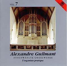 Guilmant Organ Works, Volume 7