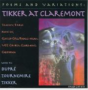 Poems & Variations : Tikker at Claremont