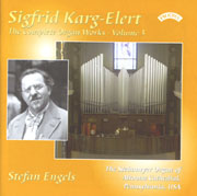 Karg-Elert Complete Organ Works, Vol. 3