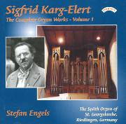 Karg-Elert Complete Organ Works, Volume 1