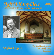 Karg-Elert Complete Organ Works, Volume 10