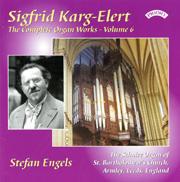 Karg-Elert Complete Organ Works, Volume 6