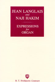 Jean Langlais and Naji Hakim, Expressions for Organ