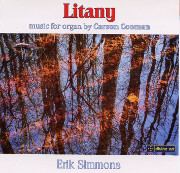 Litany Music for Organ by Carson Cooman