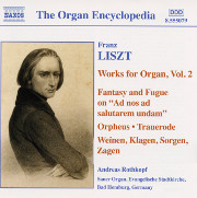 Liszt Organ Works Vol. 2