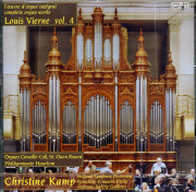 Louis Vierne Volume 4: Christine Kamp and Orchestra