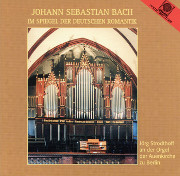 Bach in German Romanticism