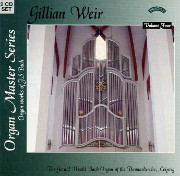 Bach at St. Thomas, Leipzig: Great 18 Leipzig Chorales -- Gillian Weir Plays