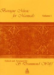 Baroque Music for Manuals, Vol. 1