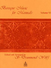 Baroque Music for Manuals, Volume 6