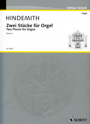 Paul Hindemith, Two Pieces for Organ
