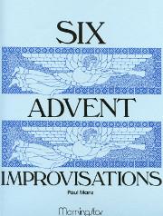 Manz, Paul: Six Advent Improvisations