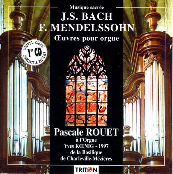 Pascale Rouet, orgue - Charleville-Mézières