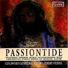 Passiontide Guildford Cathedral Choir