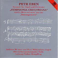 Petr Eben Organ Concerto