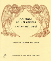 Postlude on Ubi Caritas for Organ & Brass