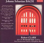 Robert Clark plays Bach at Springfield