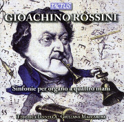 Gioachino Rossini, Overtures for Organ Four Hands