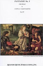 Camille Saint-Saëns, Fantaisie No. 3, opus 157