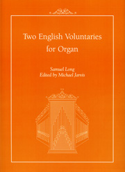 Long, Samuel: Two English Voluntaries for Organ
