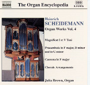 Scheidemann: Organ Works, Vol. 4