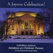 Todd Wilson Plays Christmas Music on the Severance Hall Skinner, Cleveland