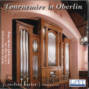 Tournemire: Oberlin or Chartres? -- An Acoustical Experiment