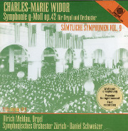 Widor's First Symphony in g for Organ and Orchestra (Op. 42)
