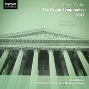 Widor: The Organ Symphonies, Volume 1