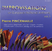 Improvisations on European National Anthems, vol. 1
