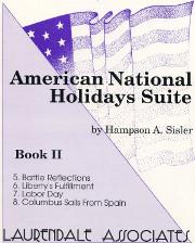 Sisler: American Holidays Suite- Book II