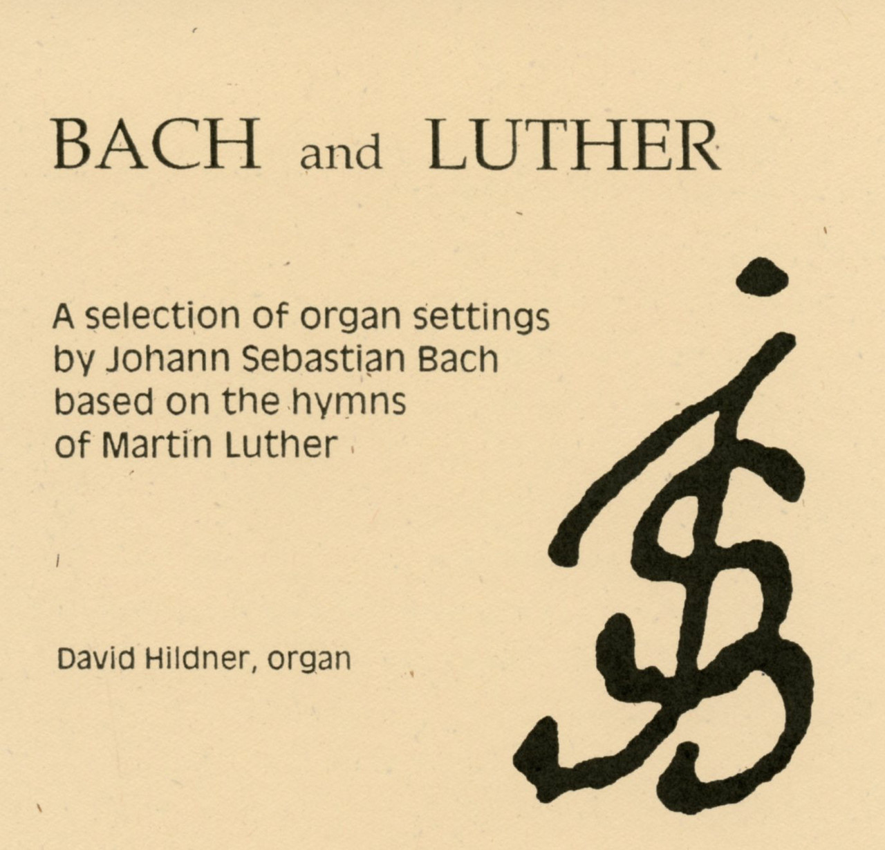 Bach and Luther